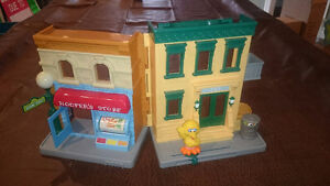 Sesame Street Little People Set London Ontario image 1