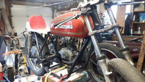 Suzuki T/GT 250 Two Stroke for VRRA racing