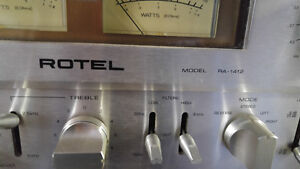 Vintage Rotels  RA1412amp  and RT1024 tuner Peterborough Peterborough Area image 5