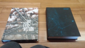 Art book and collectors edition game guide