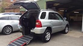 2009 Kia Sportage 2WD Wheelchair Disabled Accessible Vehicle MPV Car
