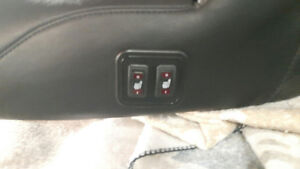 Mustang heated seat with backrest