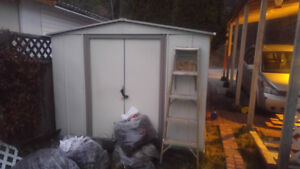 2 metal sheds in fair condition for sale