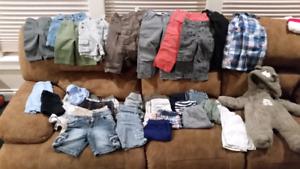Huge Baby/Toddler Boy Clothes Lot, Excellent Shape