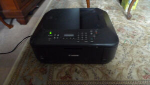 Canon PIXMA MX472 Colour Wireless Printer Scanner, Fax, Copy .
