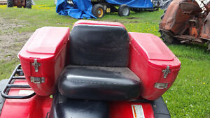 4 Sale quad seat with storage compartments