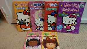 Hello Kitty & Cabbage Patch Coloring Books