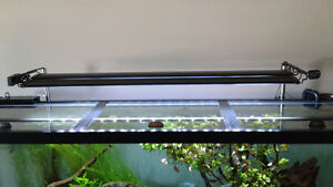 "Marineland 48"" double bright led light for aquarium."