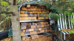 Poutres (beams) de bois