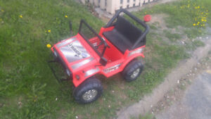 Power Jeep for Kids