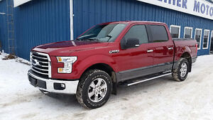 2015 Ford F-150 SuperCrew XLT XTR 4x4 Pickup Truck