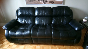 Sofa divan 3 places inclinable 200$
