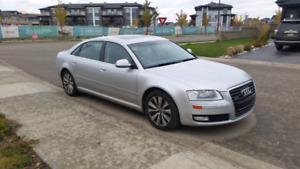 2008 Audi A8L AWD fully loaded with nav one owner 160k only
