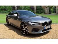 2017 Volvo S90 2.0 D4 R DESIGN 4dr Auto Wint Automatic Diesel Saloon