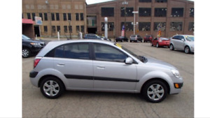 2006 Kia Rio Hatchback with brand new winter tires