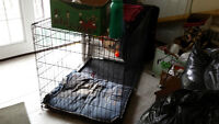 VERY LARGE DOG CAGE GREAT FOR HOUSE BREAKING