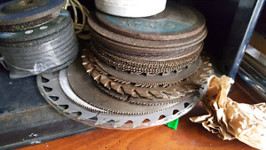 Lots of saw blades