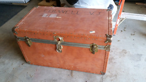 Antique Trunk - cedar lined, original owner