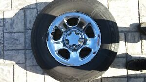 4 DODGE RAM wheels and tires