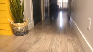 229 Sq. Ft. Laminate Flooring | Grigio Walnut
