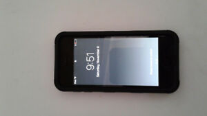 ipod touch 6 with protective case