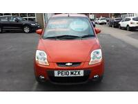 2010 CHEVROLET MATIZ 0.8 SE Automatic 5 Door From GBP4,195 + Retail Package