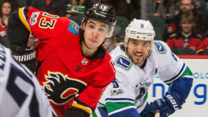 WOW! (2) (3) (4) (6) IN A ROW! CANUCKS vs. CALGARY FLAMES! 2NITE