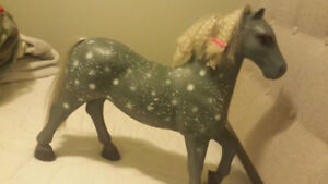 """Our Generation Dolls Lusitanian Gray Horse for 18"""" Doll"""