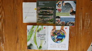 Environmental, bio, chemical technology textbooks