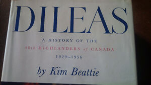 Book: Dileas, 48th Highlanders of Canada, 1929-1956 Kitchener / Waterloo Kitchener Area image 2