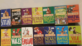 Free Shipping Horrible Histories Children's Book Collection