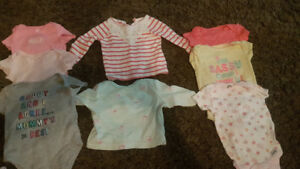 0-3 Months baby girl lot