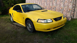 1999 Ford Mustang Coupe (2 door) V6