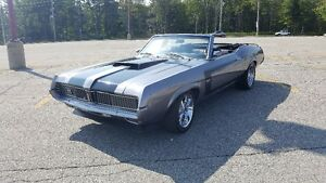 Stand out from the crowd- 1969 Cougar XR7 Convertible Restomod