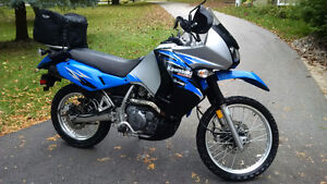 2008 KAWASAKI KLR 650 - Low KM, In great shape, with accessories