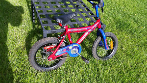 Kids bike Supercycle Moon Rider, tires 14x2.125, good condition