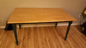 Kitchen/shop table solid wood 70 obo