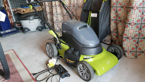 Battery Operated Self Propelled Lawnmower