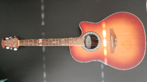 Ovation Celebrity Sunburst Accoustic/electric Guitar