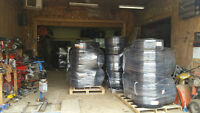 Large Selection of new rims and tires