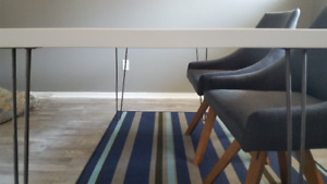Durable, Light-Weight Modern Desk or Dining Table