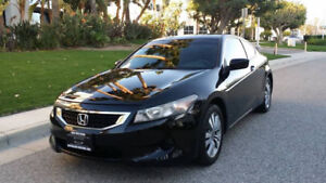 2010 Honda Accord 2Door Black on Black