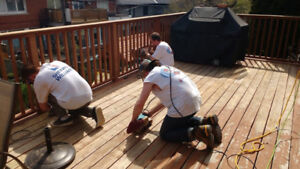 DURHAM ONLY: DECKS + FENCES STAINED FROM $199 + STAIN SAME DAY !