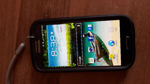 Samsung Galexy S3 cell phone + Otter case