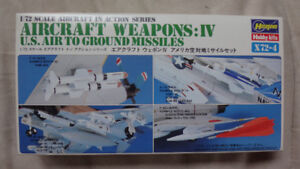 Hasegawa Air to Ground Weapons 1/72 Scale Model Kit