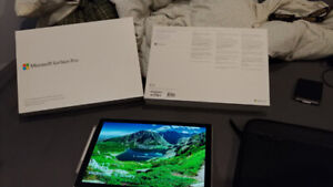 Surface Pro (Brand New) 12.3 i5 7th gen 8gb with pen/case