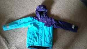 Helly Hanson girl Winter jacket size 8 , waterproof, Shell 100%