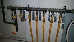 Natural Gas  Propane repairs gas lines underground...  certified