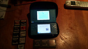 Nintendo DS – I with 13 games and a carrying case