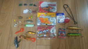 Fishing tackle in great shape.